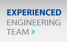 Experienced engineering team